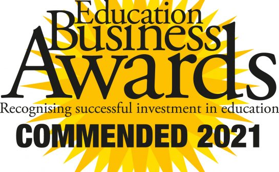 SBC receives a commendation at the Education Business Awards