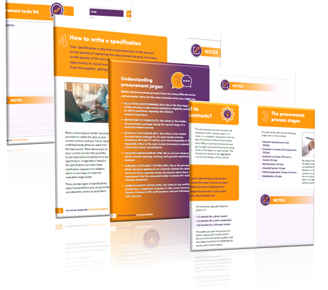 Schools Buying Club: Free Procurement Handbook